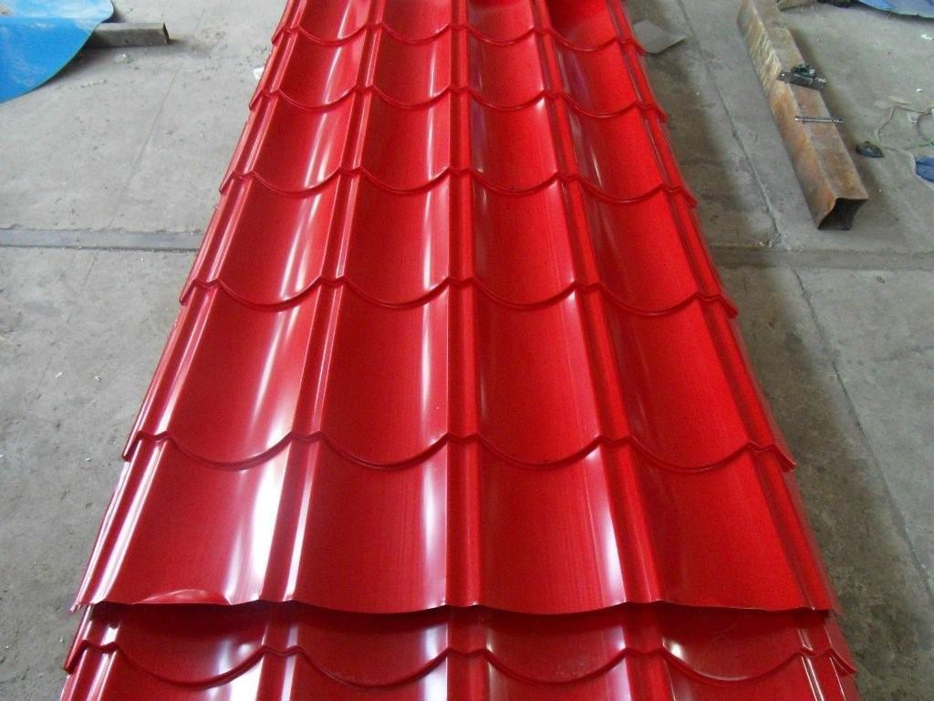 نمونه ورق فولادی شادولاین مناسب سقف