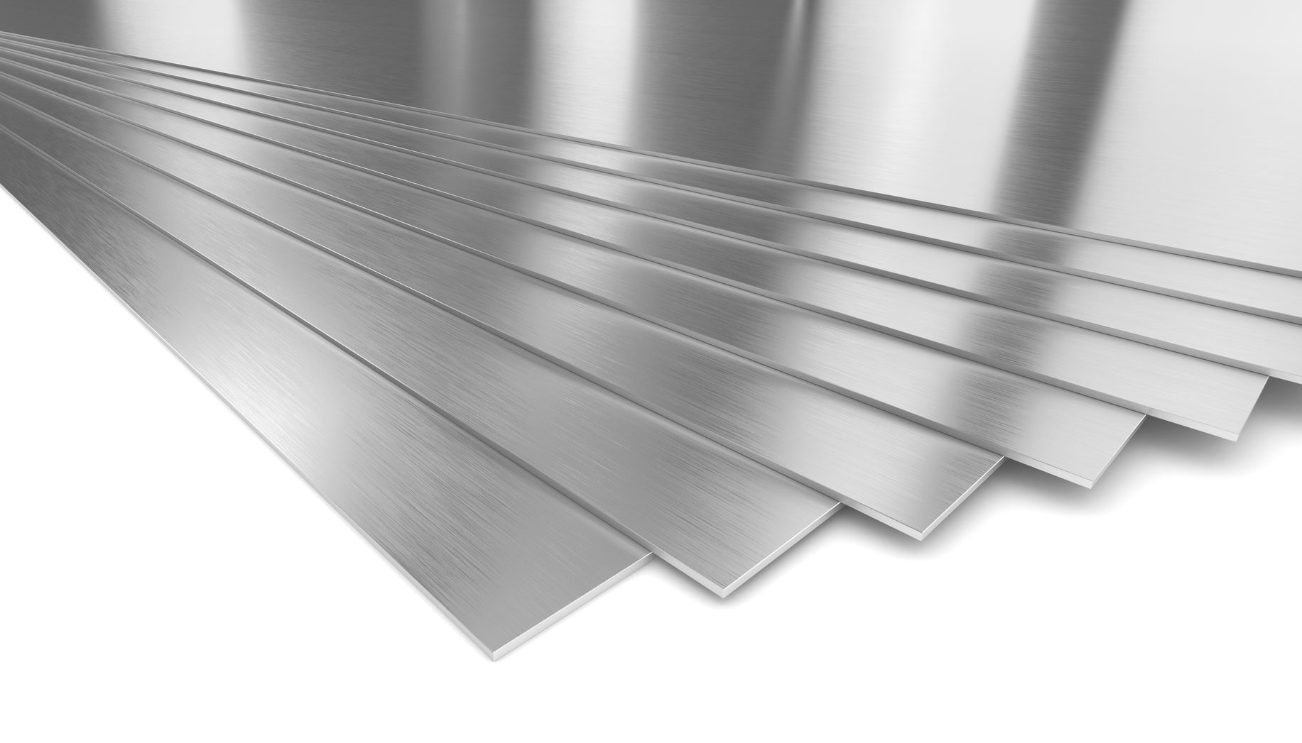 ورق های فولادی به شکل استیل